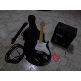 Guitarra Electrica Behringer Y Amplificador Laney Lx12