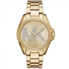 Relogio Smart Dourado Cstrass Feminino Michael Kors Parana ... 2b526091c0