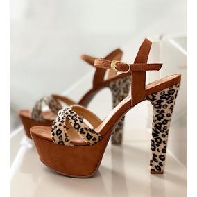 54ff8081 Zapatos Tacon Color Amarillo Dama - Ropa y Accesorios en Mercado ...