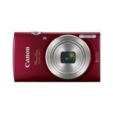 Cámara Digital Canon Powershot Elph 180 Rojo