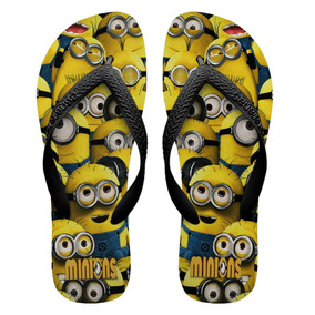 700a4d1061 Chinelos Personalizados Havaianas Minions  1