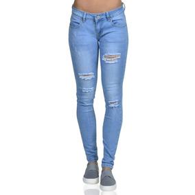 5bac828038813 Jean Rasgado Mujer - Pantalones y Jeans Mujer en Mercado Libre Perú