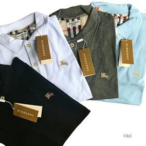 Kit 2 Camisas Gola Polo Burberry Promoção Natal Melhor Preço 4e0e553ff58