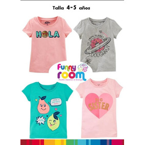 Playera Para Niña Marca Carters, Oshkosh O Garanimals