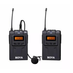 Microfono Corbatero Boya Sistema Inalambrico