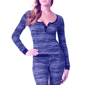 Franelas Dama Thermal La Senza Blues M