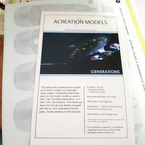 Acreatin Models Generations