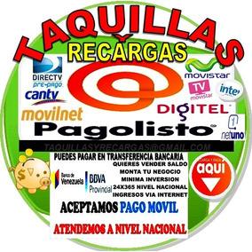 Sistemas De Recargas De Saldo Pagolisto A (nivel Nacional)