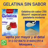 Gelatina Sin Sabor