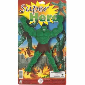Boneco Incrível Hulk - Marvel Braços Articuláveis Vingadores