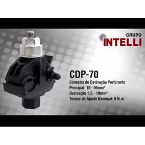 Conector Derivação Perfurante Cdp-70 Intelli 20 Unidades.