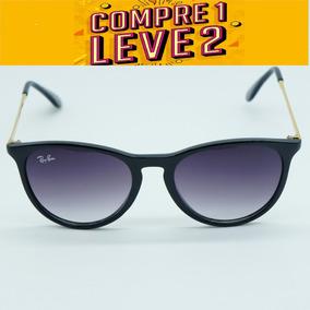 6261a283d0736 Oculos De Sol Viko Importado Dourado Preto Vk6004 Grife - Óculos em ...