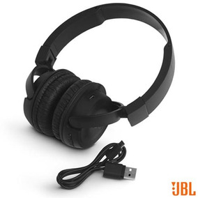Fone Ouvido Sem Fio Jbl On Ear Headphone Preto Jblt450btblk