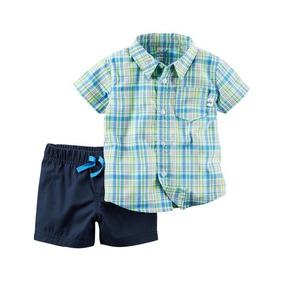 Conjunto Palmeiras Infantil Original - Conjuntos Azul claro de Bebê ... 333fa27cfe0f3