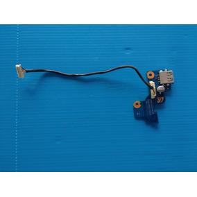 Placa Usb/botão Power Note Samsung Rv411 Rv415 Rv419 (0204)