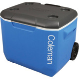 Caixa Térmica Cooler Coleman 60 Qt 56,7 L Grande Com Rodas
