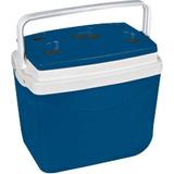 Caixa Térmica 32 Litros Smart Obba Azul Ou Vermelha