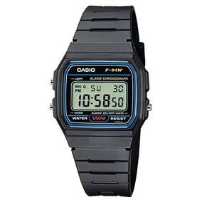 Casio Original, F-91w-1dg. Alarma, Cronómetro, Acuatico, Etc