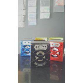 Caixa Caixinha De Som Portatil - Bluetooth Mp3 Pen Drive