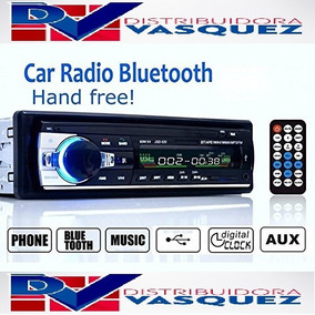 Radio Bluethooth Para Carro Usb Auxiliar Sd Pantalla Lcd