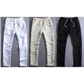 Pantalones De Lino Negro Mujer - Ropa y Accesorios en Mercado Libre ... 8ff5bdc3f232