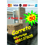 Carreto De R$ 50 A R$ 100 No Abc Aceito Cartão