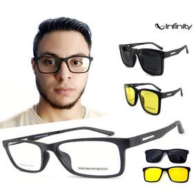 São Paulo · Armação Oculos Grau Sol Masculino Ls260 2 Clip On Promoção 0f77ae03ab