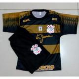 9f6b64eb4a Meiao Do Corinthians Infantil - Camisas de Futebol no Mercado Livre ...