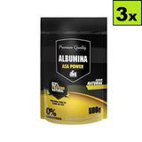 3 * Albumina 500g 83% De Proteína- Asa Power