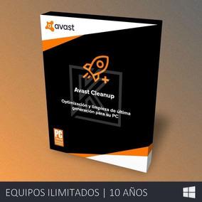 Avast Cleanup Premium - Ilimitado | 10 Años