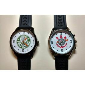 Relogios De Times De Futebol De Pulso - Relógios no Mercado Livre Brasil f92b2e69ee84a