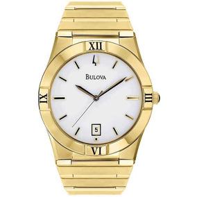 0a12e9c08f2 Relógio Bulova Masculino Social Dourado Wb21267h