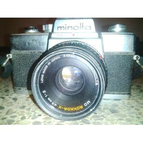 Camara Minolta Srt 201 45mm Para Colección