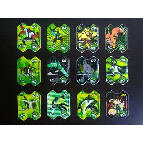 Lote 12 Ben10 + 11 Kfpanda - Tazo/cards - Yokitos