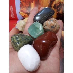 Kit 10 Pedras Cristais De Cura Minerais Naturais Novos 560g
