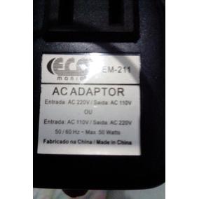 Transformador Ac Adaptador Max. 50 Watts.