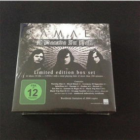 Samael - Decade In Hell 2010 - 2000 Copies Limited Edition
