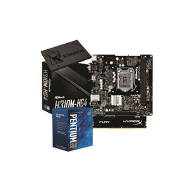 Kit Intel Pentium G5400 H310m Hg4 4gb Fury Ssd Kg120gb