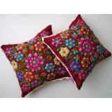 Cojines (cushions) Bordados A Mano - Artesanias Del Perú
