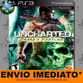 Jogo Uncharted Drakes Fortune Ps3 Promoção - Envio Imediato