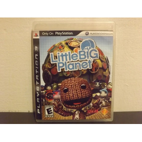 Ps3 Little Big Planet 1 - Completo - Aceito Trocas...