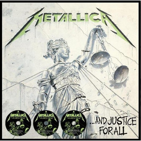 Cd Metallica And Justice For All 3 Cds Remasterizado Nuevo
