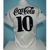 4d2534ee97 Camisa Santos Coca Cola Antiga 1990 Original Umbro - 90