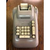 Maquina Calculadora Burroughs Modelo J 284 Años 60 Preciosa