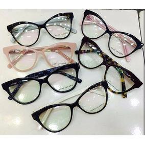 2f7151153abfd Armacao Feminina Oculos Grau - Óculos Armações Rosa claro no Mercado ...