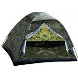 Barraca Camping Camuflada Militar 4 Lugares - Preço Mega Top