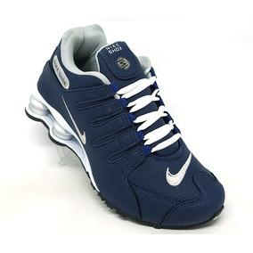 9452f2be4e Nike Shox Nz Prata E Vinho Cromado - Tênis no Mercado Livre Brasil