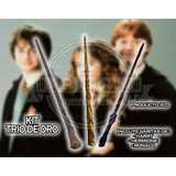 Varitas Set Harry Potter Ronald Weasley Y Hermione Granger