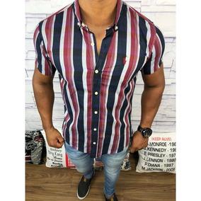 e8a38a8e1361d Camisa Polo Da Marca Esquadra Tamanho G - Camisa Social Manga Longa ...