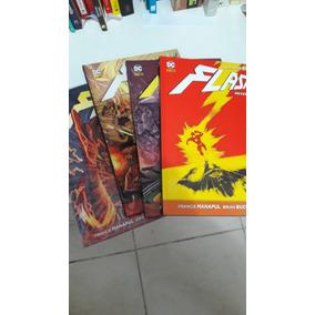 Flash Novos 52 Em 4 Volumes